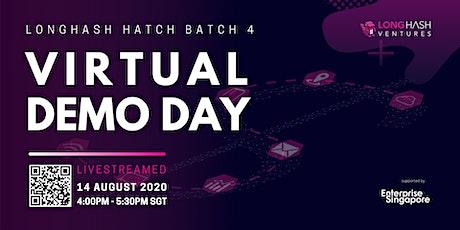 Virtual Demo Day ( LongHash Hatch Batch 4) biglietti