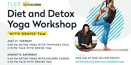 Diet & Detox Yoga Workshop | One Island South tickets
