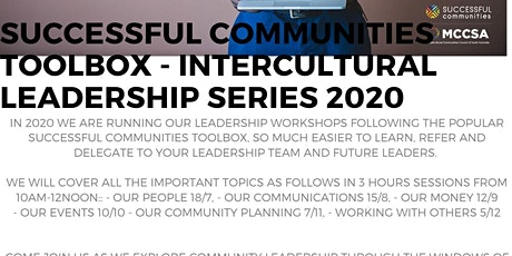 Successful Communities - Intercultural Leadership: Toolbox Series  tickets
