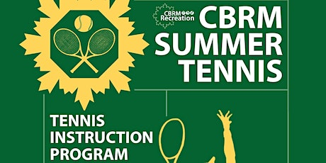 CBRM Summer Tennis Program Ages  8 -10 tickets