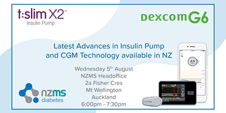 Introduction to Dexcom G6 and Tandem Basal IQ - Mt Wellington tickets