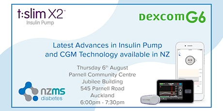 Introduction to Dexcom G6 and Tandem Basal IQ - Parnell tickets