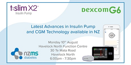 Introduction to Dexcom G6 and Tandem Basal IQ - Havelock North tickets