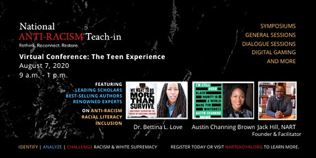 The 2020 National Anti-Racism Teach-In Teen Experience tickets