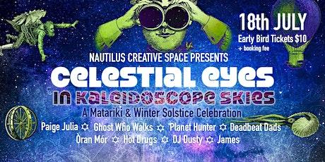 Celestial eyes in Kaleidoscope skies tickets