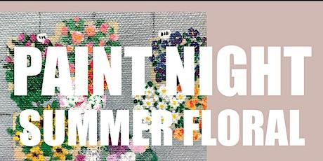 Beachgirl Acrylics Summer Florals Paint Night tickets