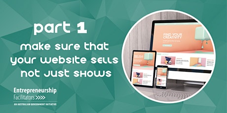 Make sure that your Website SELLS not just SHOWS - Zoom Webinar tickets