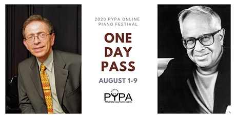 2020 PYPA Online Piano Festival: One Day Pass B tickets