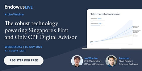 The robust technology powering Singapore's 1st and Only CPF Digital Advisor tickets