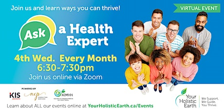 Ask the Health Expert - Online Evening - Health Outside the Box  tickets