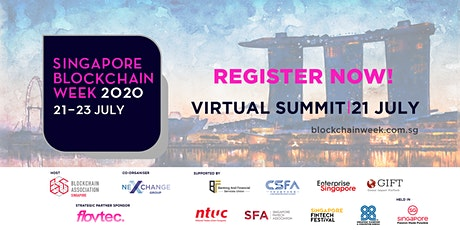 Singapore Blockchain Week Virtual Summit 2020 tickets