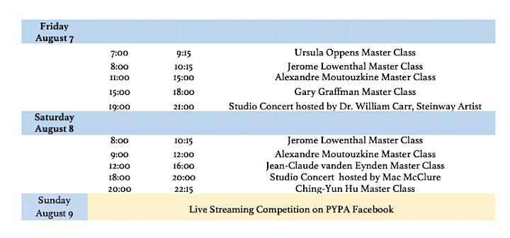 Masterclass/Studio Concert: Lowenthal, McClure, Moutouzkine, Oppens/ Pass B image