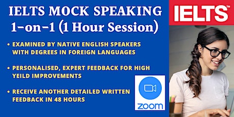 IELTS MOCK SPEAKING PRACTICE - BY IELTS CRASH COURSE tickets