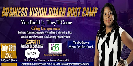 Business Vision Board Bootcamp tickets