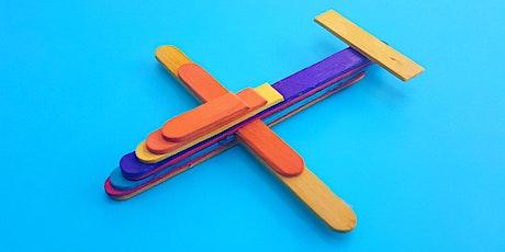 Build a Paddle Pop Stick Plane tickets