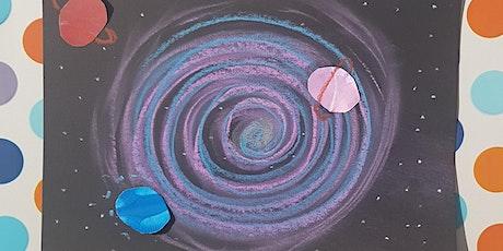 Galaxy Chalk Pastel Art tickets