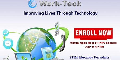 Salvation Army Work-Tech Zoom OPEN HOUSE Event tickets