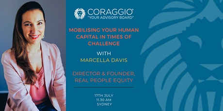 Mobilising your human capital in times of challenge with Marcella Davis tickets