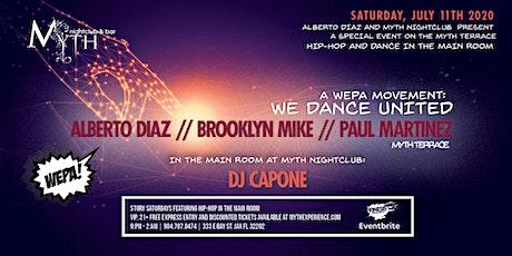 We Dance United at Myth Nightclub | Saturday 07.11.20 tickets