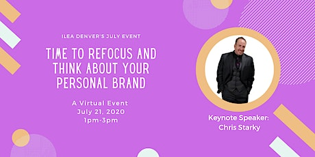 Time To Refocus and Think About Your Personal Brand tickets