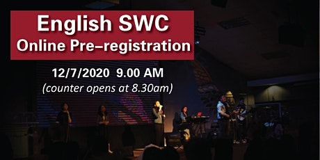 English Sunday Worship Celebration 12/7/2020 tickets