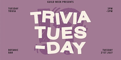 Guild Week: Trivia Tuesdays tickets