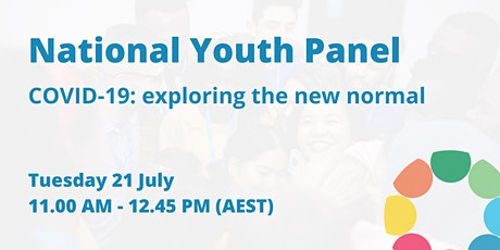 National Youth Panel on COVID-19: exploring the new normal tickets