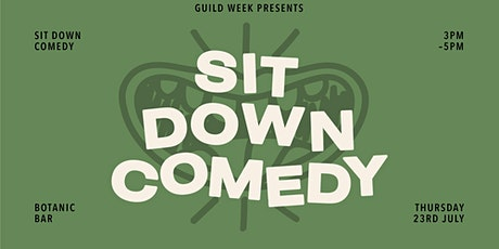 Guild Week: Live Comedy from Sit Down Comedy Club tickets