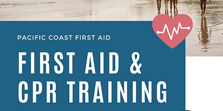 Provide First Aid, Education First Aid & CPR Training tickets
