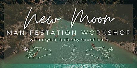 *VIRTUAL* New Moon Manifestation Workshop & Sound Bath tickets