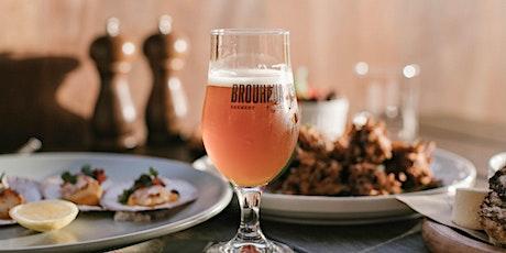 Brouhaha Brewery 4th Birthday Degustation Dinner tickets