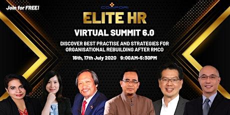 Elite Human Resource Virtual Summit 6.0 billets