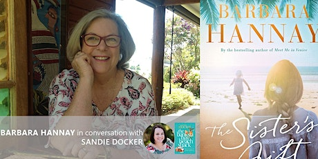 Library Online: Barbara Hannay in conversation with Sandie Docker tickets