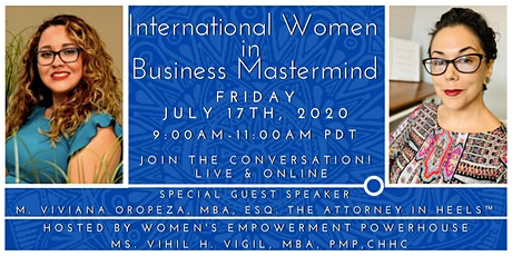 International Women in Business Mastermind Featuring The Attorney in Heels! tickets