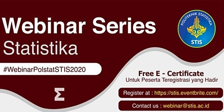 Webinar Statistika #7   Data Science for Government and Business tickets