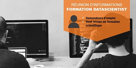 "Réunion d'informations : Formation ""Data Scientist"" billets"