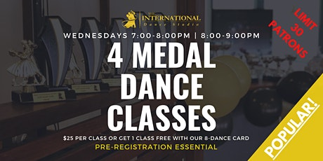[AUGUST] Join 4 Adult Medal Classes! tickets