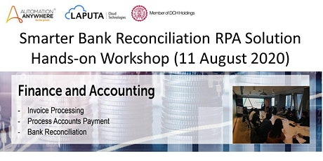 Smarter Bank Reconciliation RPA Solution Hands-on Workshop tickets