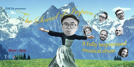 TBC HK Presents: THE SOUND OF IMPROV tickets