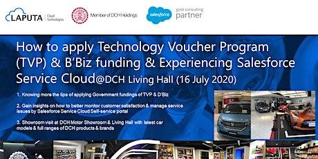 How to apply Technology Voucher Program (TVP) & D'Biz funding? tickets