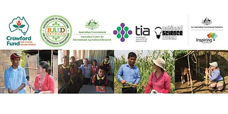 Science for Food Security: Making a Global, Career & Personal Difference tickets
