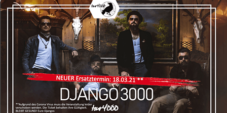 Django 3000 - Tour 4000 - Regensburg Tickets