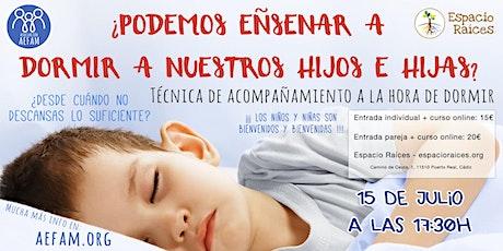 ¿Podemos enseñar a dormir a nuestros hijos e hijas? entradas