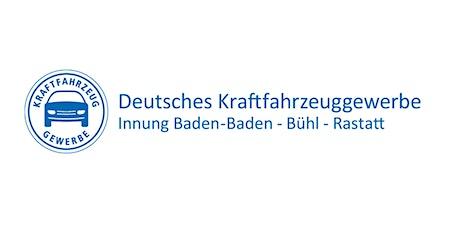 Jahreshauptversammlung Kfz-Innung Tickets