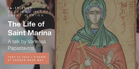 'The Life of Saint Marina' by Vanessa Papastavros tickets