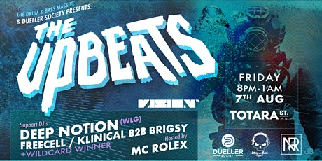 The Upbeats with MC Rolex - Tauranga tickets