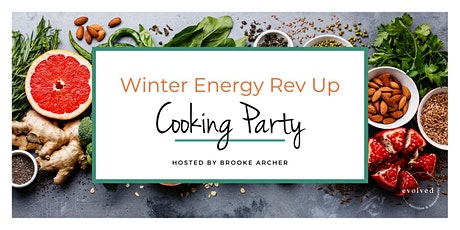 Winter Energy Rev Up Cooking Party tickets