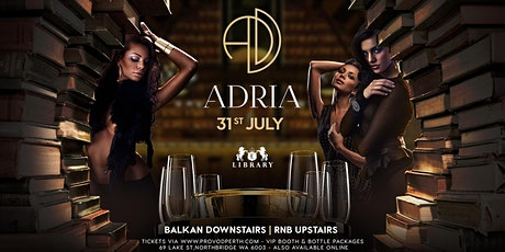 ADRIA - The Balkans Invade Library! tickets