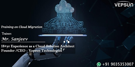Cloud Migration Training in Bangalore tickets