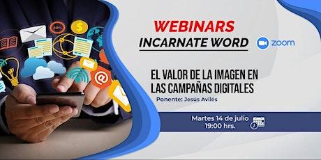 El valor de la imagen en las campañas digitales. entradas